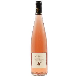 a bottle of 2020 domaine de la mordorée la remise rosé