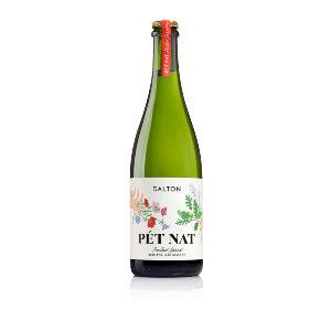 a bottle of 2020 dalton pét nat sparkling wine